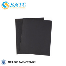 Waterproof silicon carbide abrasive sandpaper