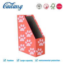 Organizador de arquivo de prateleira de papelão ecológico