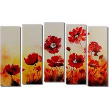 Оригинальный новый дизайн свежий цветок масляной живописи