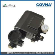 Válvula de atuador de 3 vias posicionador eletro posicionador pneumático posicionador pneumático