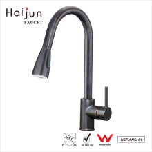 Haijun Wenzhou Contemporary Single Handle Pull Down Kitchen Water Sink Taps Faucet