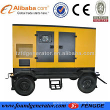 150KW genset trailer type