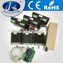 3 achsen CNC NEMA23 schrittmotor kits 250 unzen in