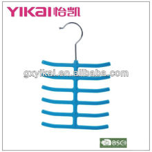 Geflockter Krawattenaufhänger mit 12 Racks
