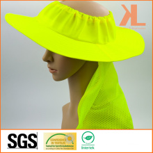 100% Polyester Mesh Bucket Hat with Reflective Piping