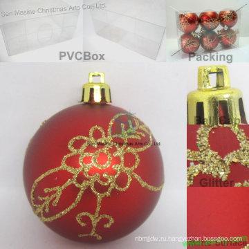 Рождество пластиковый шар