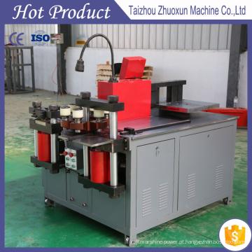 Barra de cobre do CNC que processa a máquina de perfuração de dobra do corte