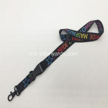 3/4 Inch Polyester Lanyards Dye Sublimation