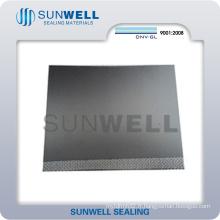 Panneau en métal-maille-insert-graphite