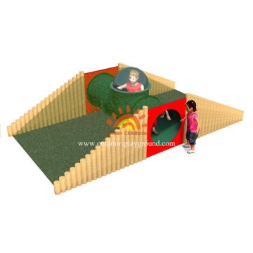 Équipement Aire de jeux intérieure pour tout-petits pour la maternelle en vente