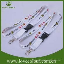 Custom design print fabric lanyard/cool accessories lanyard