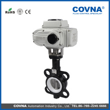 4 inch Wafer Type Motorized Butterfly Valve Water Flow Control Valve
