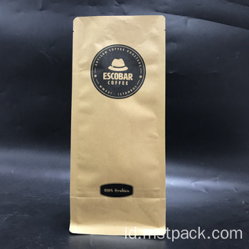 Degassing Valve dengan Coffee Packaging Bag