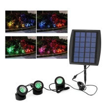 Supply for Solar Underwater Led Light Solar LED light with RGB color supply to United States Factories