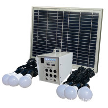 Solar lighting kit charged by sunlight for home