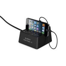 2 Steckdose Hause / Büro Überspannungsschutz mit 5 USB-Port ORICO Marke