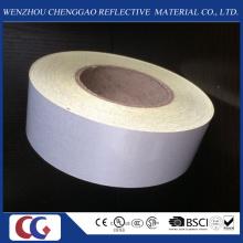 Heißer Verkauf Werbung Grade Pet White Reflektierende Material Band