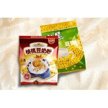 Malote plástico do pacote do pó do leite de soja-feijão