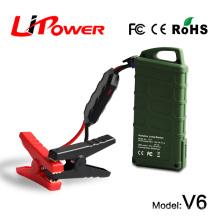 Sur la promotion 14000mAh 12v lithium voiture démarreur batterie chargeur de batterie automatique / epower chargeur / démarreur avec chargeur de voiture