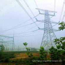 500 Kv Terminal Esquina Potencia de transmisión Ángulo Torre de acero