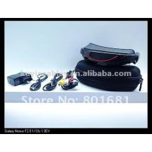 "Brand New 72"" Widescreen Multimedia Player Portable 3D Video Glasses Virtual Theatre 4GB"