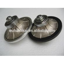 Вакуум паяный алмаз вручную профиль колеса