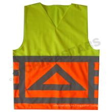 Chaleco de seguridad de doble color, chaleco reflectante, reflectores de seguridad personalizados