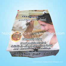 Mentos Pet Food PE Ziplock Bag