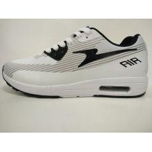 Frauen Grau und Weiß Retro Casual Gym Schuhe