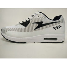 Women Grey and White Retro Casual Gym Footwear