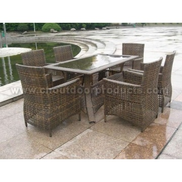 Outdoor Wicker Rattan Dining Tables