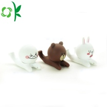 3D Cartoon Animal Silicone Mobile Phone Holder Stand