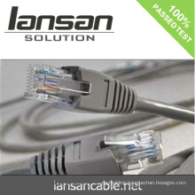 LANSAN Professional High Speed cat6 utp patch cord cable PVC/LSOH ETL/UL/ROHS/ANATEL