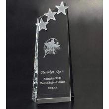 New Design Star Crystal Awards Trophy