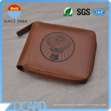 Professional Factory RFID Blocking Men′s Leather Wallet