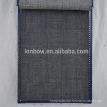 pin check all wool suiting fabric for men's suits