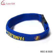 Hot Sale Gift Woven Print Logo Bracelet (LM1470)
