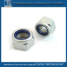 M3-M30 DIN985 DIN6924 Ne Nte Type Nylon Lock Nut