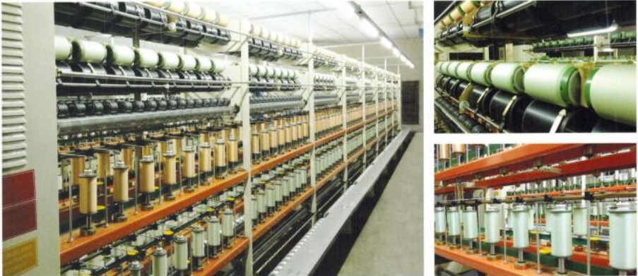 spandex yarn covering machine