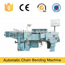 Dobladora de cadena de enlace automático