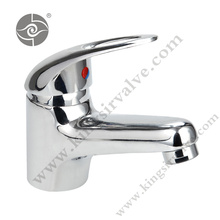 Single handle basin taps faucets
