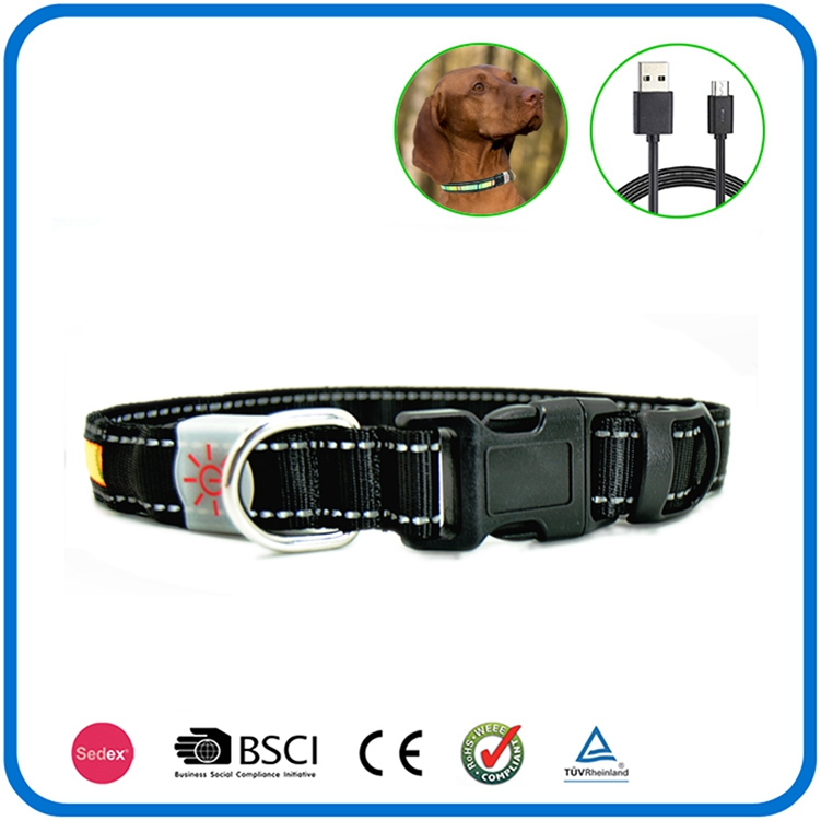 Led Luminous Flashing Christmas Light Dog Collar