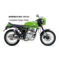 Kreidler DICE CR125 Complete Spare Parts