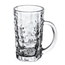 Taza de vidrio de cerveza 400ml con mango