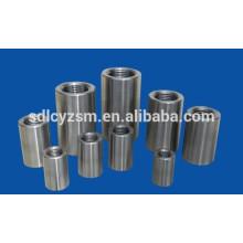 Acoplador de vergalhão mecânico para conexão de barra de aço de reforço