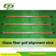 Wholesale Golf Fiberglass practice stick/ price of golf stick/golf alignment stick