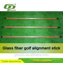 Vara da prática da fibra de vidro do golfe por atacado / preço da vara do golfe / vara alinhamento do golfe