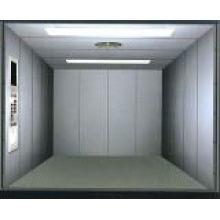 Elevador de carro oposto porta com sala de máquinas