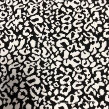 Tissu tricoté Jacquard 90% polyester 10% élasthanne