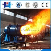 Easy maintenance coal fired burner